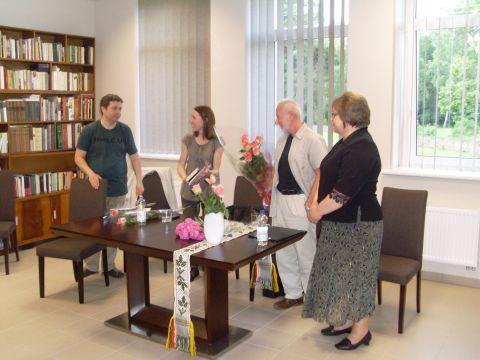 2013m. viešnagė Prienų Justino Marcinkevičiaus viešojoje bibliotekoje.